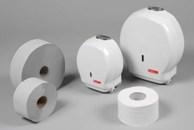 Toilettenpapier und Spendersysteme